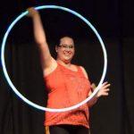Ariane De Champlain Hoop Love Teacher