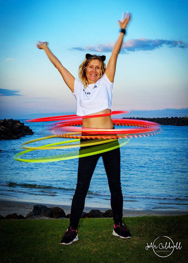 Joanne McEvoy Hoop Love Teacher