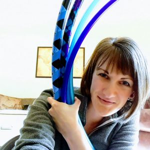 Michelle Testa Hoop Love Teacher
