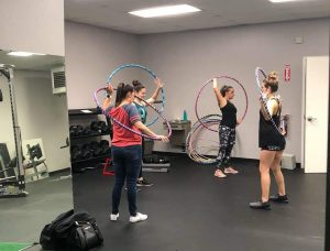 Hula Hoop Teacher Lori Olmsted