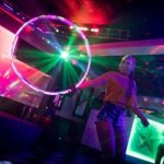 Olivia Campbell LED Hula Hoop Show