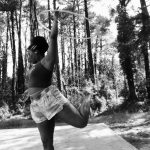 Hula Sutra in the bush hoop dance practice