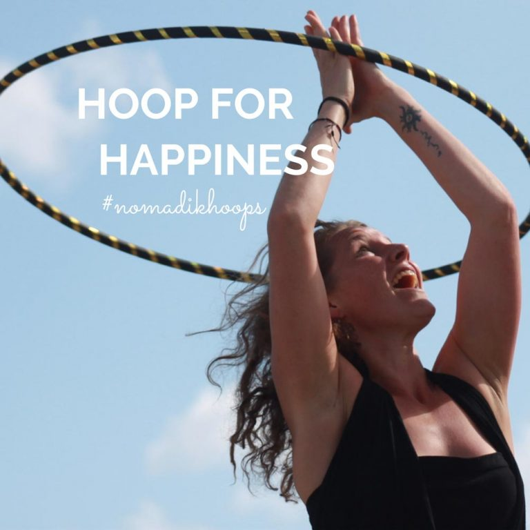 NomadikHoops Hula Hooping in the Sun