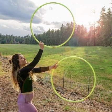 Alchemy Hoop Dance Hooping In the Sun