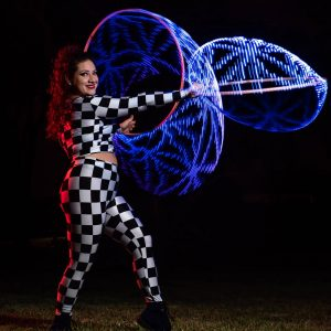 Ashley Elise Profile LED Hula Hoop
