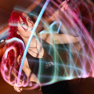 Glow Fire Flow LED HUla Hooping