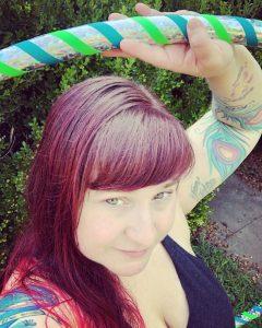 Leigh Fisher Hula Hooper