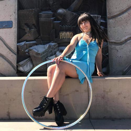 Luna Sol Hoop Dance Teacher