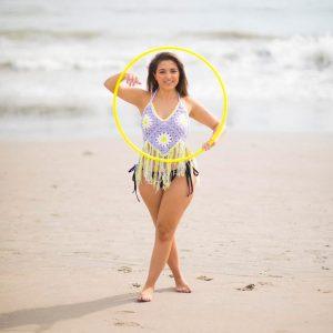 Beach Hooping with Arielle Dalia